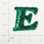 Expo Int'l Letter E Sequin Applique