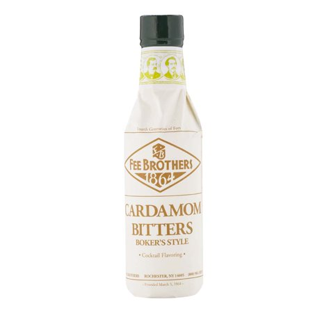 Fee Brothers Orange Bitters (Fee Brothers Cardamom Boker's Style Cocktail Bitters - 5)