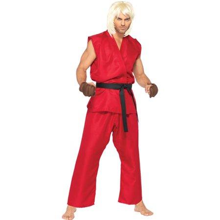Morris Costume UASF85082ML Street Fighter Ken Adult Costume, Medium & Large for $<!---->