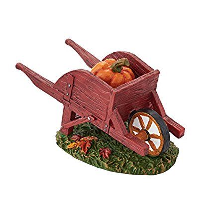 Department 56 Halloween Village Harvest Fields Wheelbarrow Accessory, 1.875-Inch
