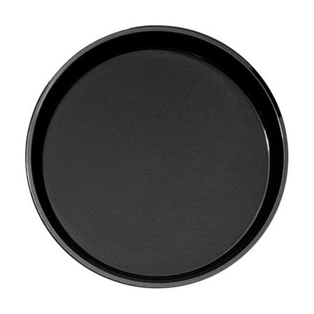 Cambro - 1400CT110 - 14 in Round Black Camtread® Serving Tray
