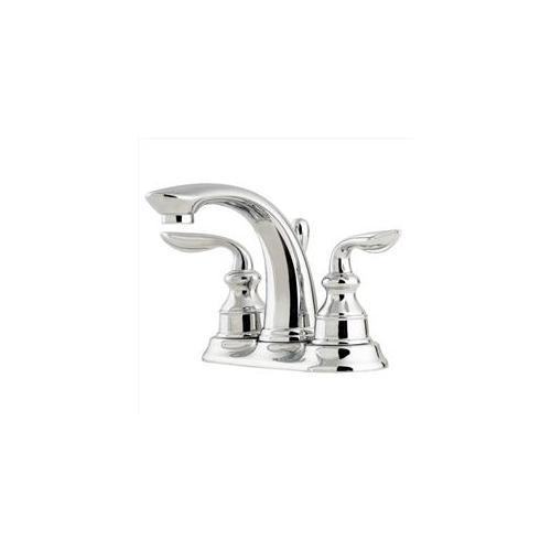 "Pfister Avalon 2-Handle 4"" Centerset Bathroom Faucet, Polished Chrome"