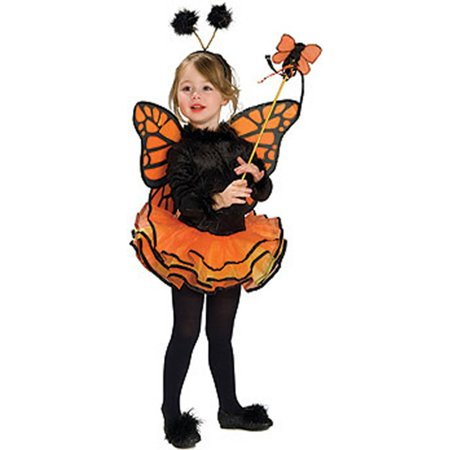 Orange Butterfly Kids Costume - Kids Butterfly Costumes