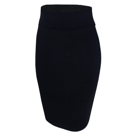 Khaki Pencil Skirt - TAM WARE Women Casual Convertible Knee Length Pencil Skirt
