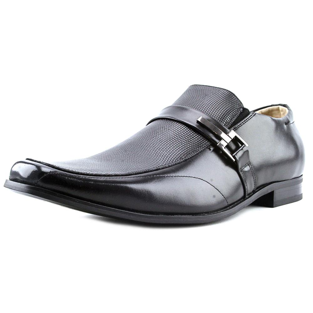 Stacy Adams Beau Men Apron Toe Leather Loafer by Stacy Adams