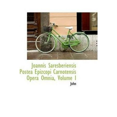 Joannis Saresberiensis Postea Epizcopi Carnotensis Opera Omnia, Volume I - image 1 of 1