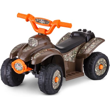 kid trax 6v mossy oak quad ride on. Black Bedroom Furniture Sets. Home Design Ideas