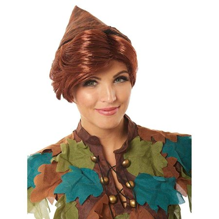 Peter Pan Adult Costume Wig - - Tinkerbell And Peter Pan Costume