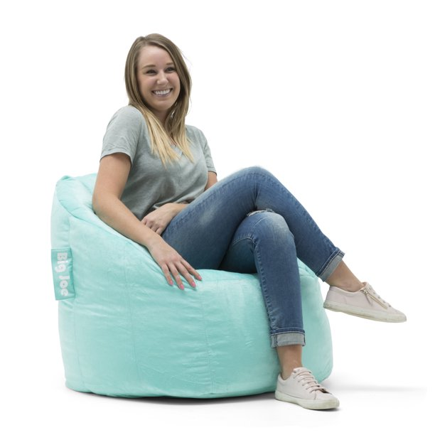 "Big Joe Milano Bean Bag Chair, Multiple Colors - 32"" x 28"" x 25"""