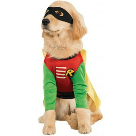 Robin Costume For Pets - Dc Robin Costume