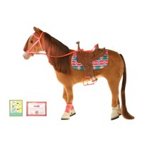 """My Life As 18"""" Poseable Horse Play Set for 18"""" Dolls, 9 Pieces, Multiple Colors"""