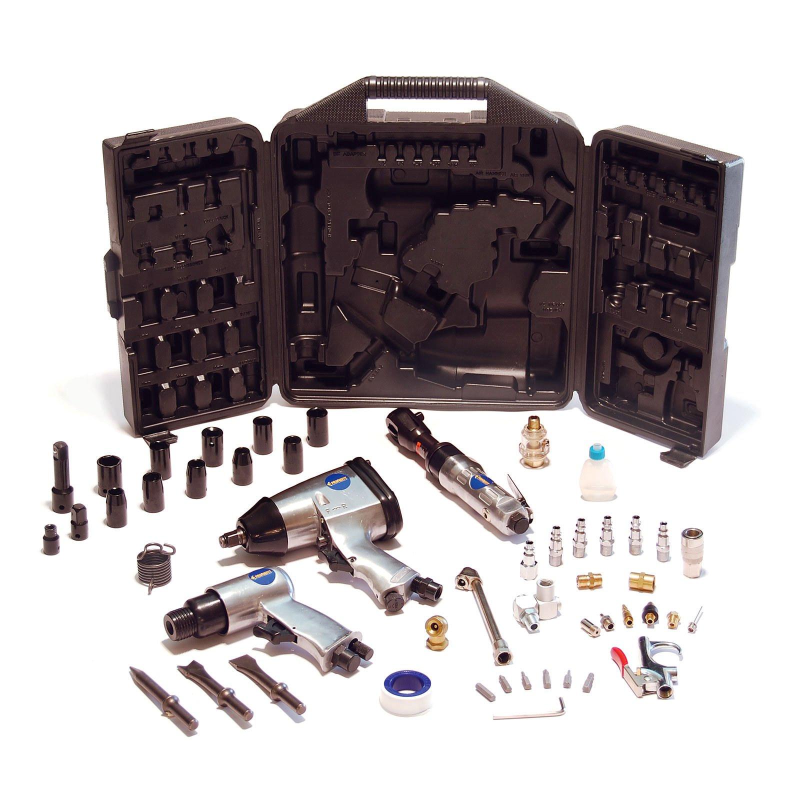 PrimeFit 50-Piece Air Compressor Performance Tool Kit