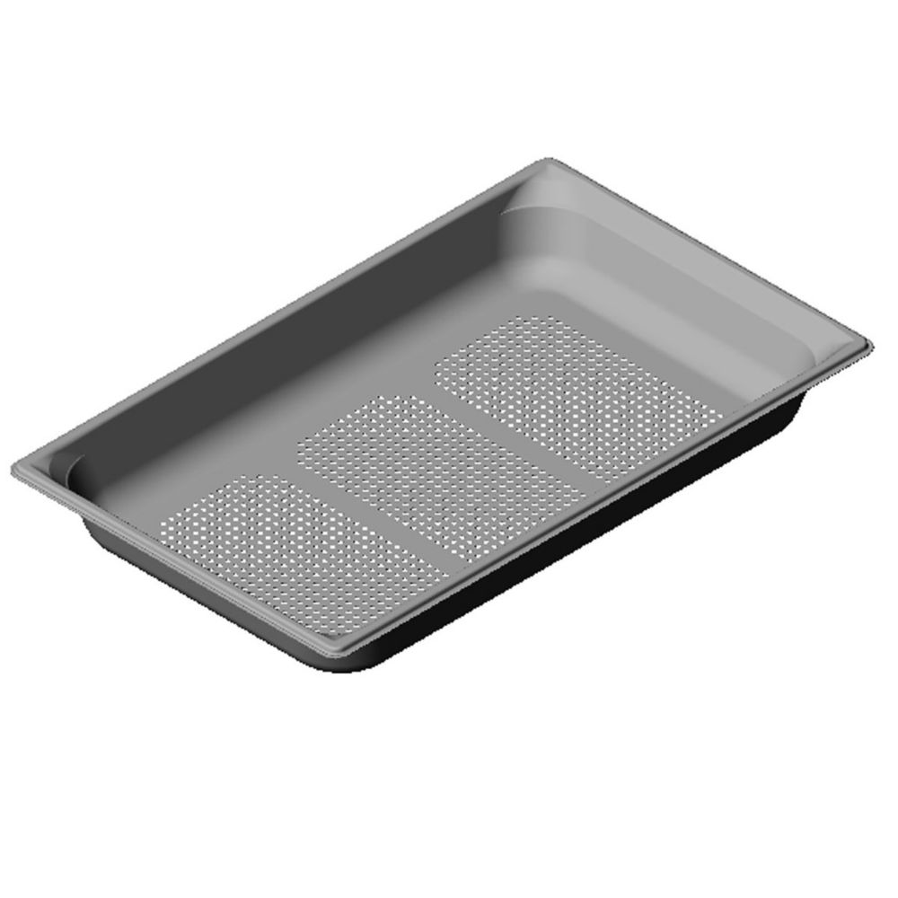 "Vollrath 90023 Super Pan 3 Full Size x 2.5"" D Perforated Food Pan"