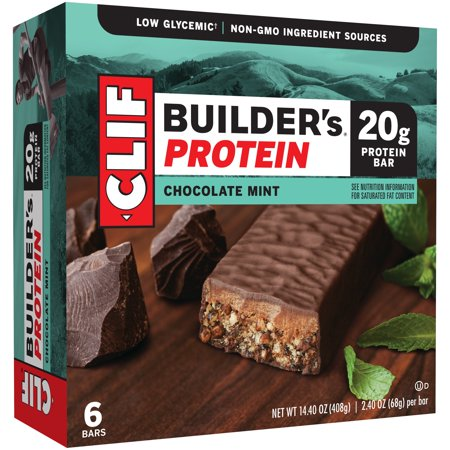 Clif Builder's® Chocolate Mint Protein Bar 6-2.4 oz.