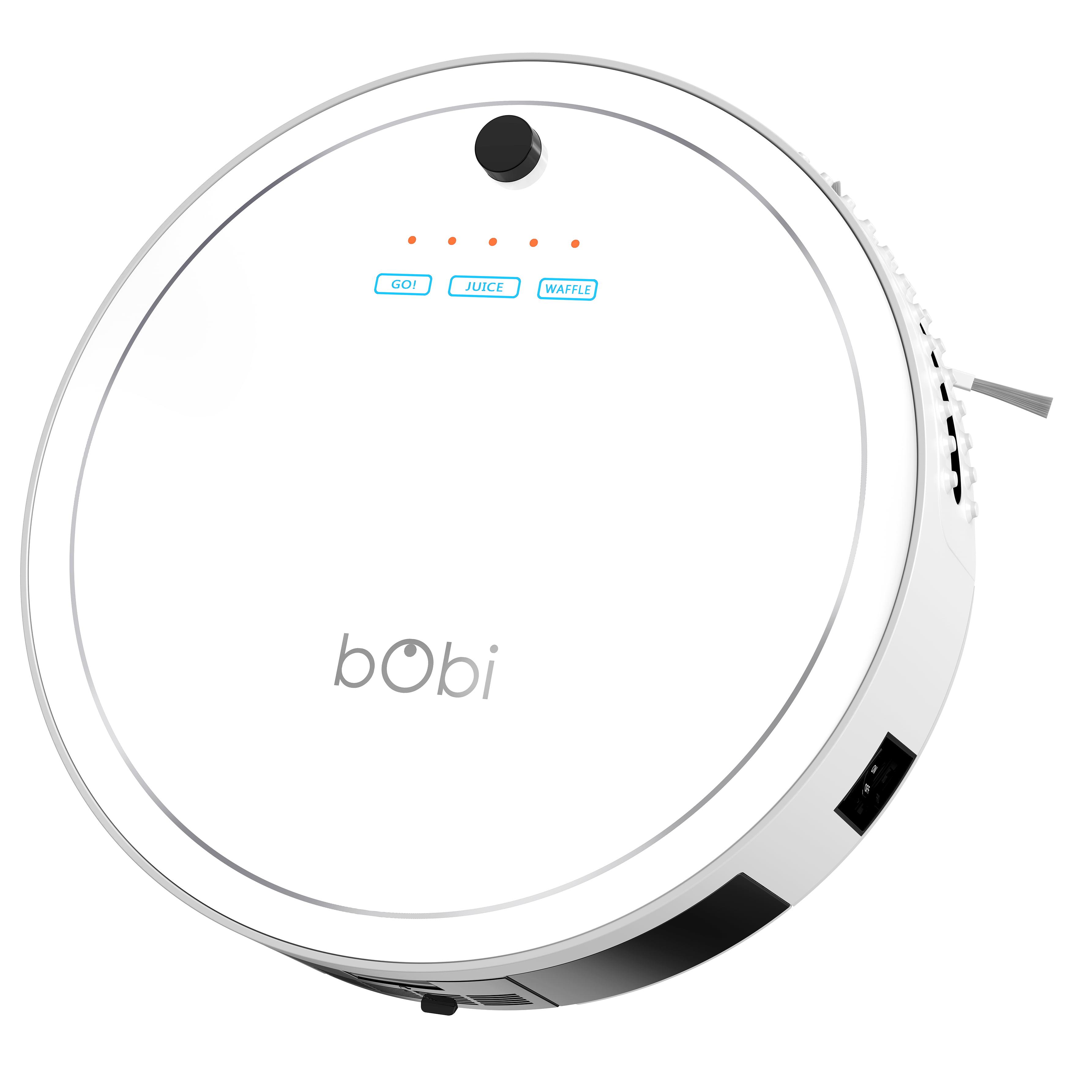 bObi Classic Robot Vacuum Cleaner, Snow