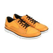 Cushe Sonny Textile Mens Orange Textile Lace Up Sneakers Shoes