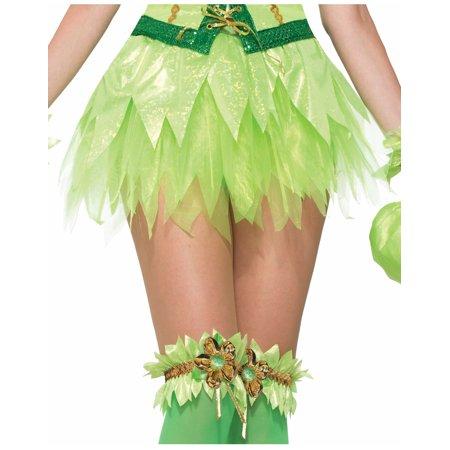 Miss Pixie Womens Adult Tinker Bell Fairy Costume Green Tutu Skirt for $<!---->
