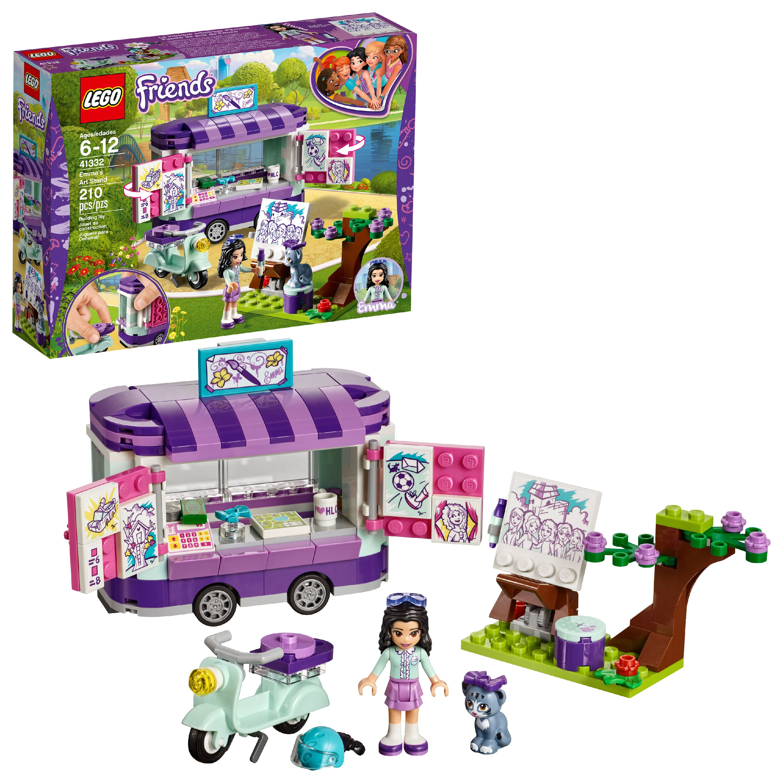 LEGO Friends Emma's Art Stand 41332 Building Set (210 Pieces)
