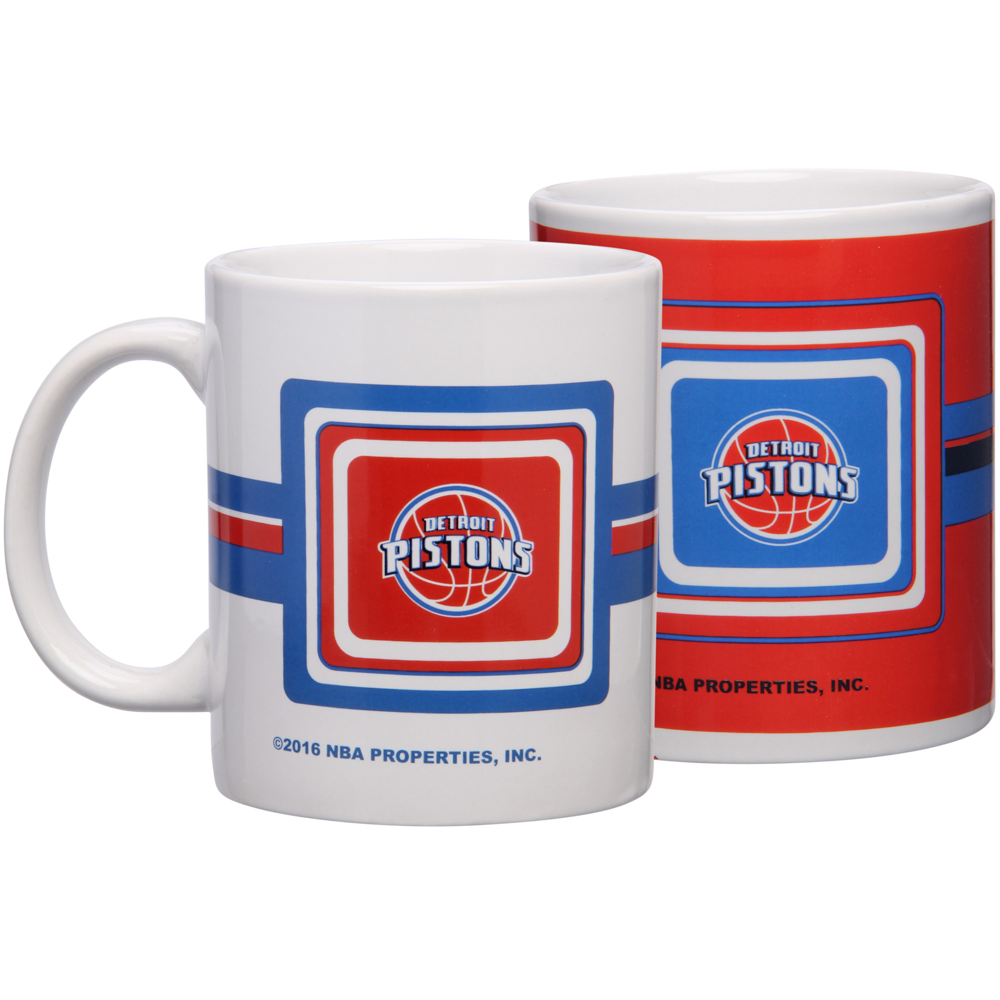 Detroit Pistons 11oz. Two-Pack Mug Set - No Size