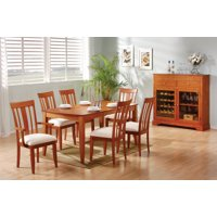 Monarch Transitional 2 PCS Dining Chair In Cherry Finish I 1420