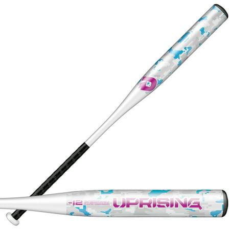 DeMarini Uprising Metal Fastpitch Softball Bat, (-12) (Demarini Softball Bats 2018)