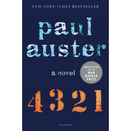 4 3 2 1 : A Novel