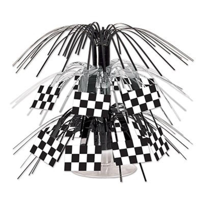Checkered Flag Mini Cascade Centerpiece (Pack of 12)
