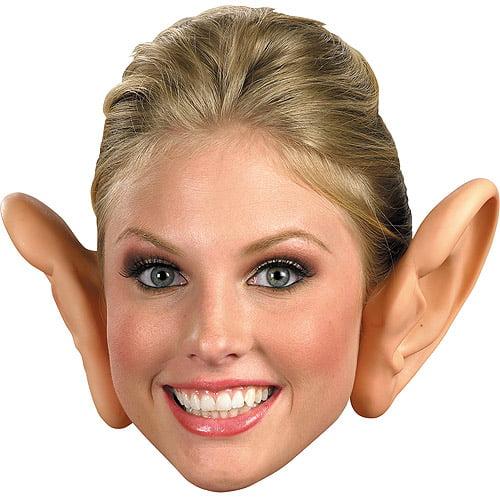 Large Plastic Ears Halloween Accessory