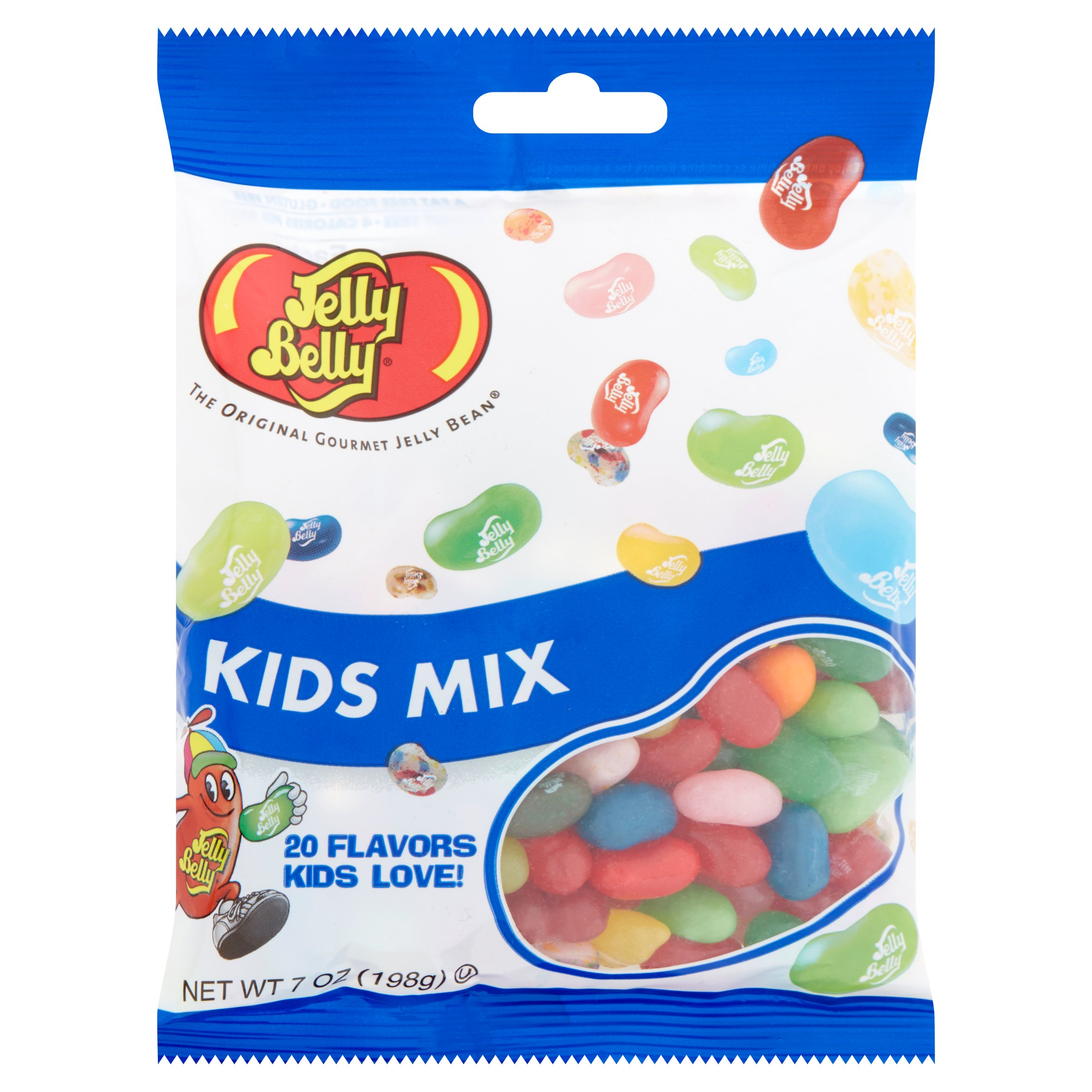 Jelly Belly, 20 Flavors Kids Mix Jelly Beans, 7 Oz