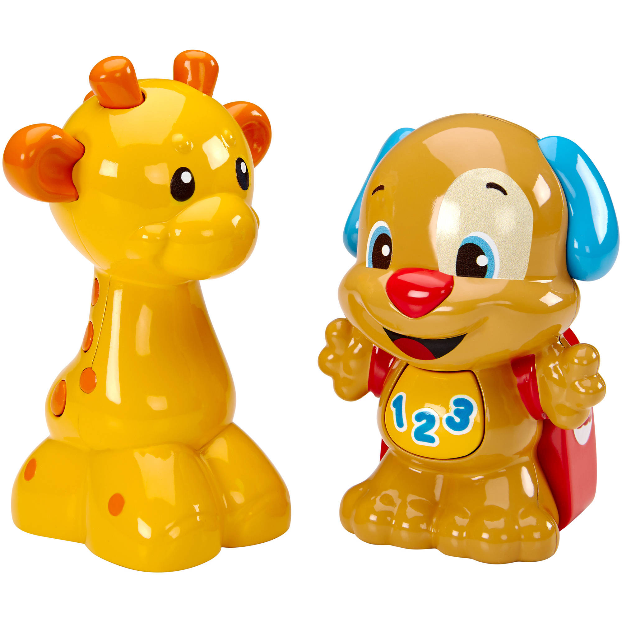 Fisher-Price Laugh and Learn Talk 'n Teach Puppy and Giraffe