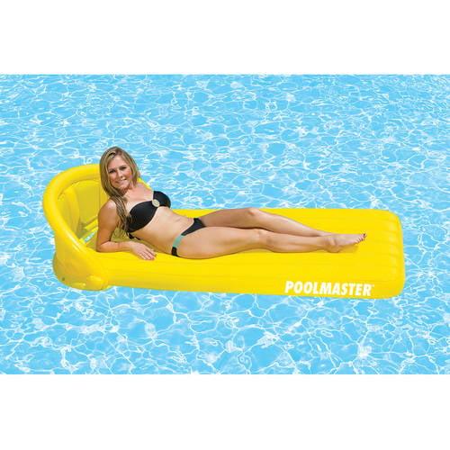 Poolmaster Orange Canopy Mattress