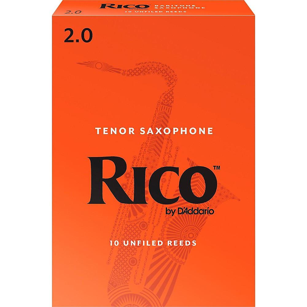 Rico Baritone Saxophone Reeds, Box of 10 Strength 2 by Rico