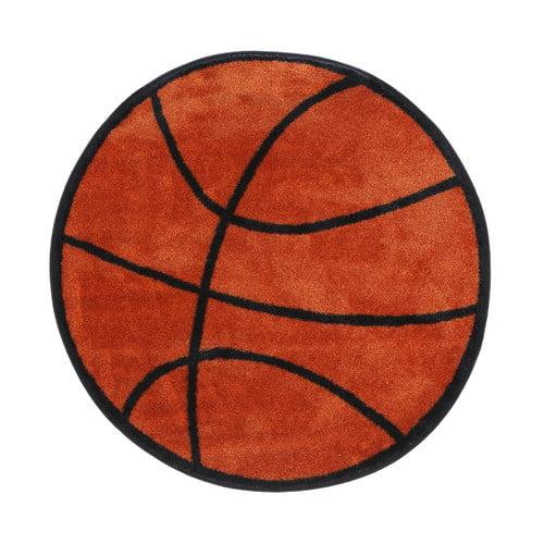 Fun Rugs Fun Shape Basketball Area Rug