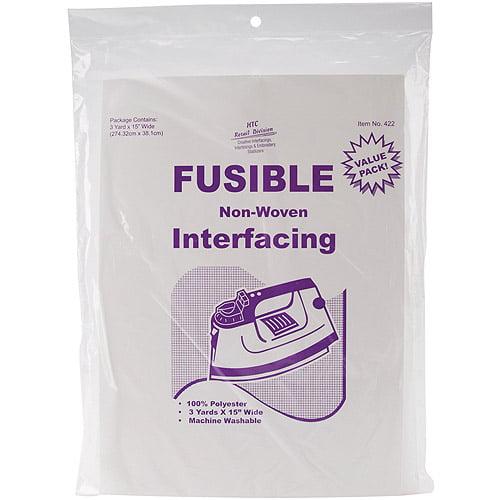 "Fusible Non-Woven Interfacing, 15"" x 3 Yards"