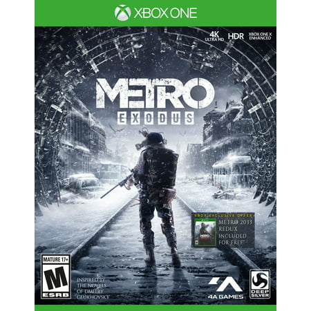 Metro Exodus Day 1 Edition, Square Enix, Xbox One, 816819014509