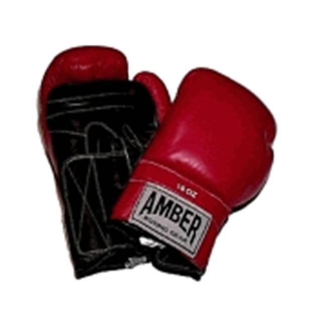 Amber Sporting Goods ABG-3008-12 Standard Training Gloves Cloth Tie 12oz