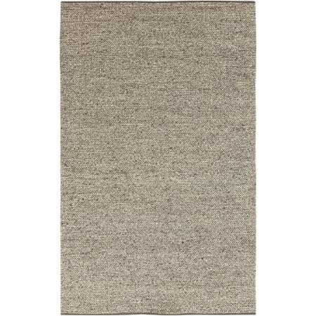 2' x 3' Shear Bliss Sand Wool Area Throw Rug