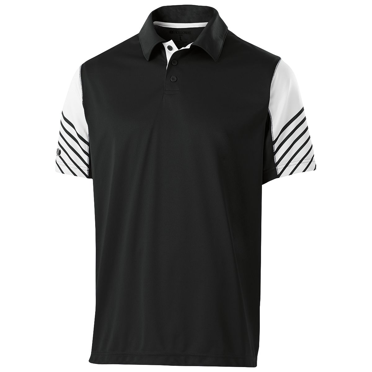 Holloway Arc Polo Blk/Whi S - image 1 of 1