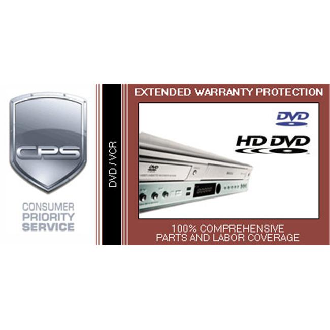 Consumer Priority Service VCD3-500 3 Year DVD-VCR under $500.00