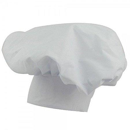 JHats Chef Baker Hat Cap Adult White - Chef Cap