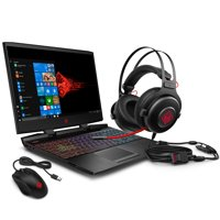 "Omen by HP Gaming Laptop 15.6"", Intel Core i7-9750H, NVIDIA GTX 1660Ti 6GB, 16GB RAM, 256GB SSD, Omen Headset and Mouse Included ($100 Value), 15-dc1088wm"