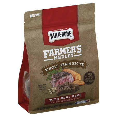 Milk Bone Farmer S Medley Dog Treats Walmart