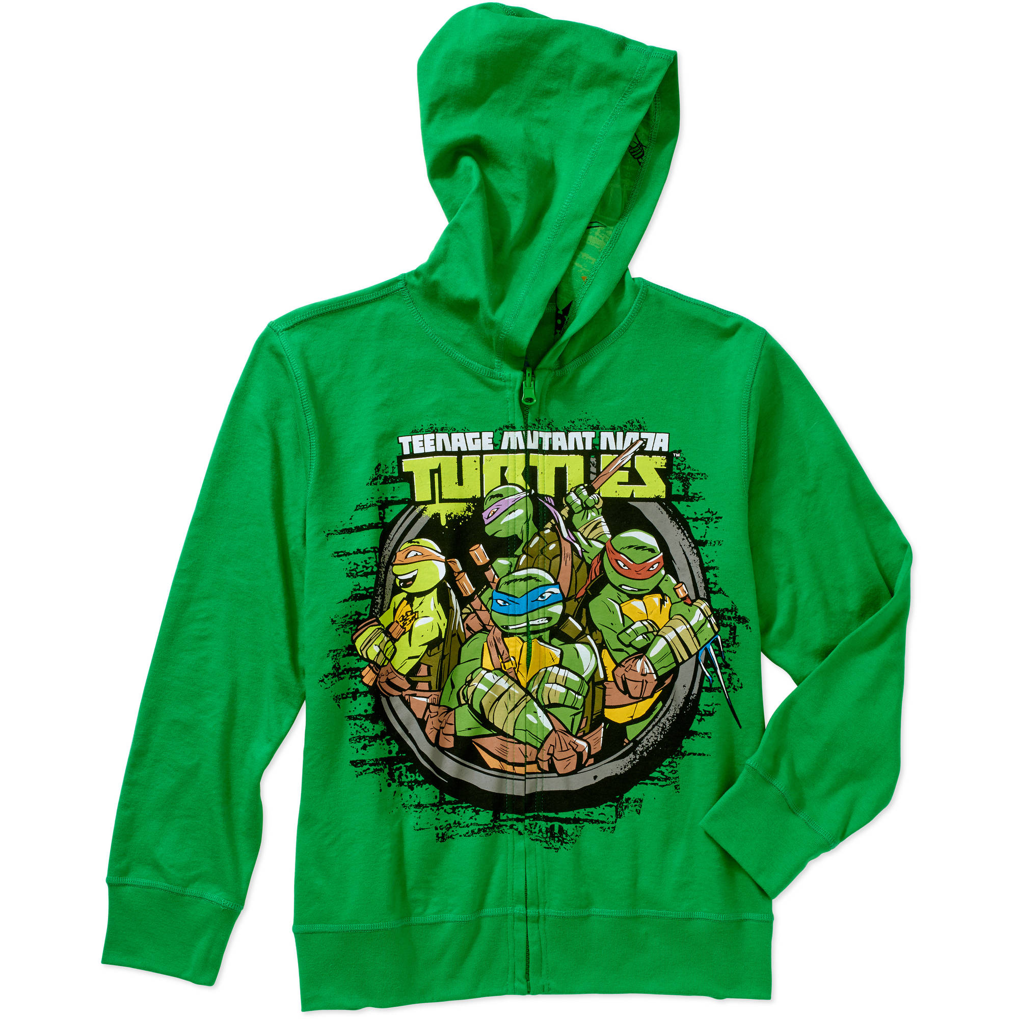 Teenage Mutant Ninja Turtles Boys Reversible Hoodie