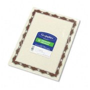 """Geographics Red Crown Certificate - 11"""" X 8.5"""" - Inkjet, Laser Compatible (45327)"""