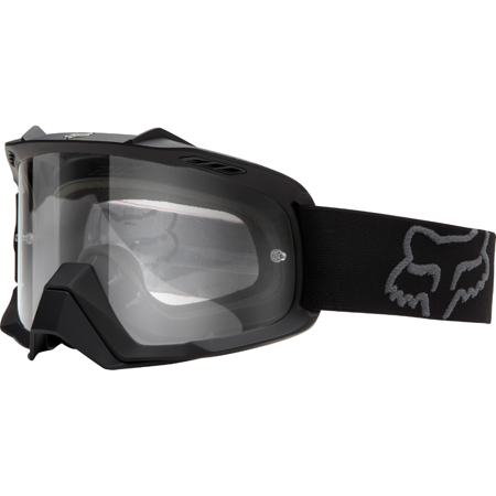 Party City Goggles (Fox Air Space Matte Black / Clear Goggles 06333-901-OS One)