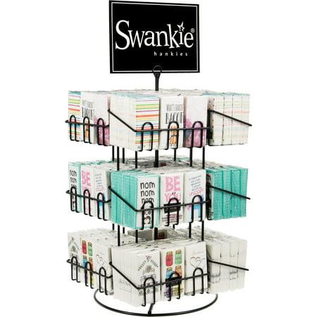 Swankies Spinner Rack Holds 144 pkgs