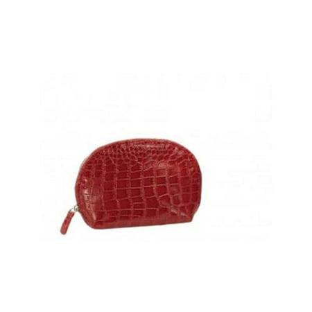 Joann Marie Designs Cosrmc Cosmetic Bag   Red Mock Croc Pack Of 2