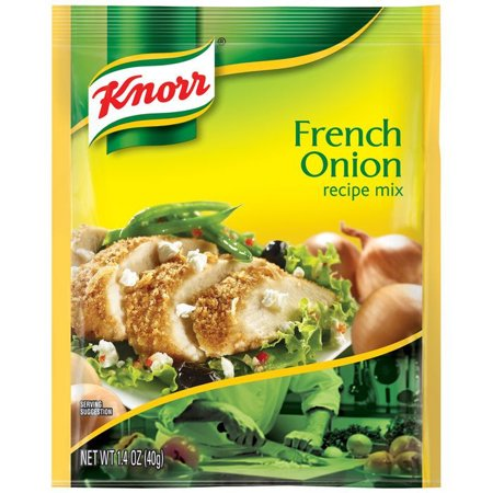 (6 Pack) Knorr Recipe Mix French Onion Recipe Mix, 1.4 oz