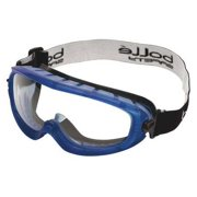 Bolle Safety Prot Goggles,Antfg,Scrtch Rstnt,Clr 40092