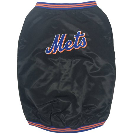 Pets First MLB New York Mets Dugout Pet Jacket